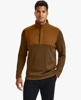Herren UA Storm SweaterFleece mit ½ Druckknopfleiste