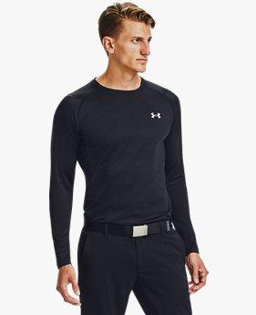 Haut de golf à col ras du cou et manches longues ColdGear® Infrared pour homme