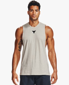 Herren Project Rock Tanktop aus Charged Cotton®
