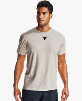 Herren Project Rock Kurzarm-Oberteil aus Charged Cotton®