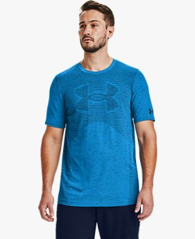 Men's UA Seamless Logo Short Sleeve