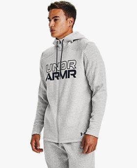 Sweat à capuche UA Baseline Full Zip pour homme