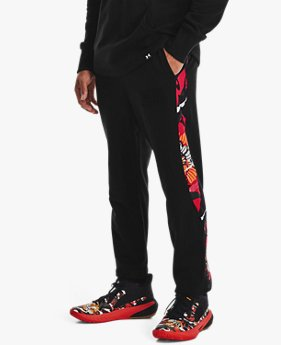 Men's UA CNY Fleece Snap Pants