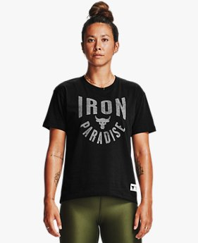 Women's Project Rock Graphic Short Sleeve