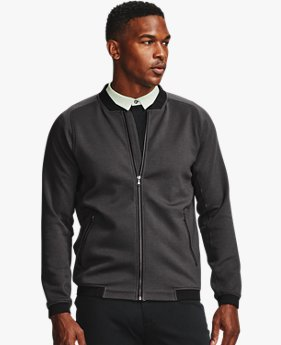 Men's UA Range Unlimited Storm Full-Zip Bomber Jacket