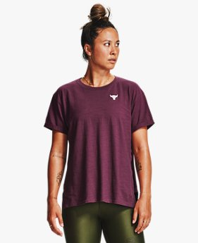 Women's Project Rock Charged Cotton® Short Sleeve