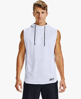 Men's Curry Sleeveless Hoodie