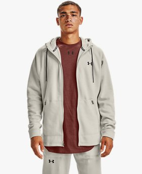 Herenhoodie Charged Cotton® Fleece met volledige rits