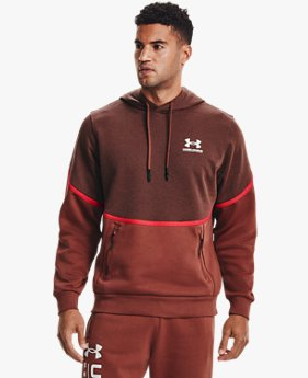 Sweat à capuche UA Rival Fleece AMP pour homme
