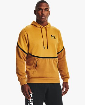 Herenhoodie UA Rival Fleece AMP
