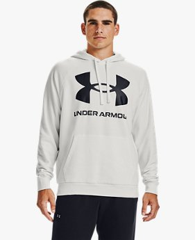 Men's UA Rival Fleece Big Logo Hoodie