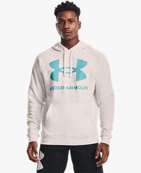 เสื้อฮู้ด UA Rival Fleece Big Logo สำหรับผู้ชาย