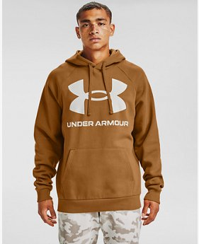 Herenhoodie UA Rival Fleece Big Logo