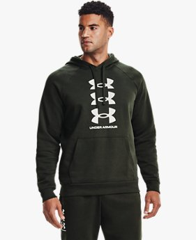 Herenhoodie UA Rival Fleece Multilogo