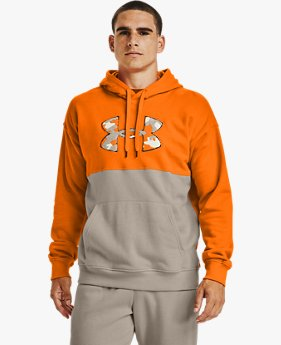Men's UA Rival Fleece Colour Block Hoodie