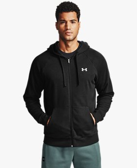 Men's UA Rival Cotton Full Zip Hoodie
