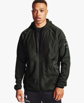 Sweat à capuche Armour Fleece® Storm Full Zip pour homme