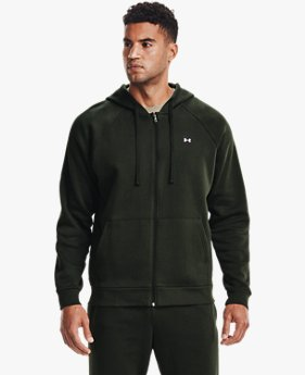 Men's UA Rival Fleece Full Zip Hoodie