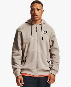 Men's UA Rival Fleece AMP Full Zip Hoodie