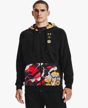 Men's UA Rival Fleece CNY Full Zip Hoodie