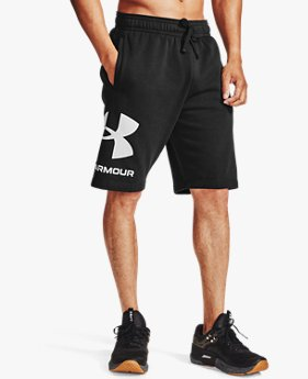 Men's UA Rival Fleece Big Logo Shorts