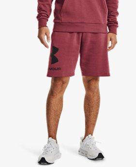 กางเกงขาสั้น UA Rival Fleece Big Logo สำหรับผู้ชาย