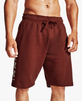 Herren UA Rival Fleece Multilogo Shorts