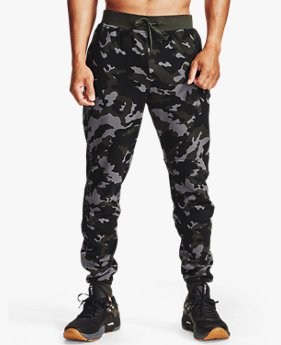 Men's UA Rival Fleece Camo Joggers