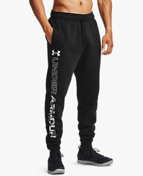 Men's UA Rival Fleece Graphic Joggers