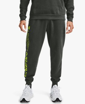 Pantalon de jogging UA Rival Fleece Graphic pour homme
