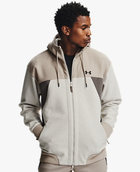Men's UA RECOVER™ Fleece Full Zip Hoodie