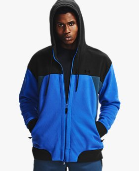 Sweat à capuche UA RECOVER™ Fleece Full Zip pour homme