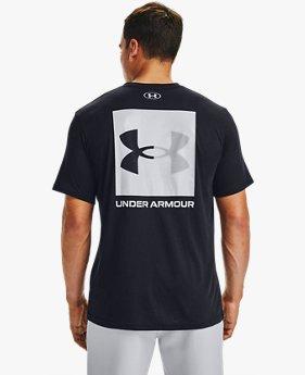 Herren UA Box Logo Kurzarm-Oberteil