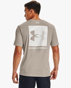 Camiseta de manga corta UA Box Logo para hombre