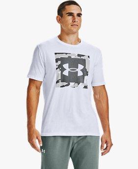 Men's UA Camo Box Logo Short Sleeve