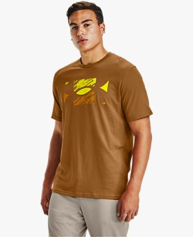Men's UA Big Logo Sketch Short Sleeve