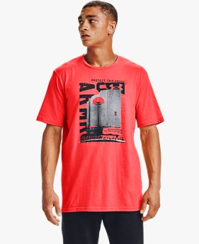 Men's UA Basketball Photoreal Short Sleeve