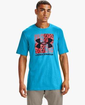 Men's UA Shattered Box Logo Short Sleeve
