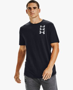 Men's UA Triple Stack Logo Short Sleeve