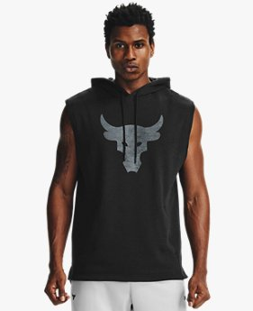 Men's Project Rock Charged Cotton® Sleeveless Hoodie