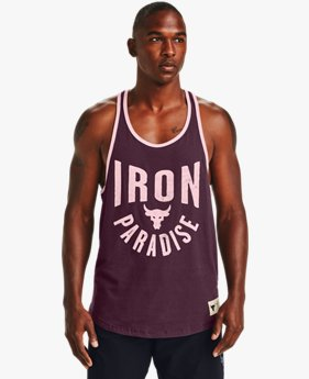 Herren Project Rock Iron Paradise Tanktop