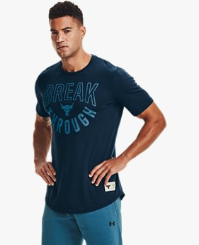 Men's Project Rock Break Through Short Sleeve