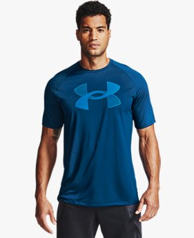 Men's UA Tech™ Big Logo Short Sleeve