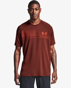 Men's UA Tech™ Logo Wordmark Short Sleeve