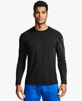 Men's UA Tech™ Gradient Logo Long Sleeve