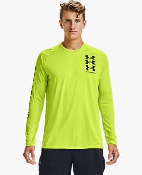 Men's UA Tech™ Triple Logo Long Sleeve
