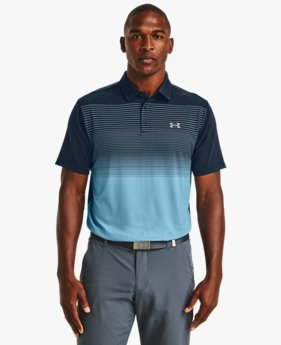 Men's UA Playoff Polo Chest Stripe
