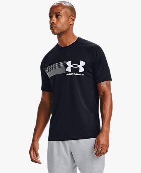 Men's UA Velocity 2.0 Graphic Short Sleeve