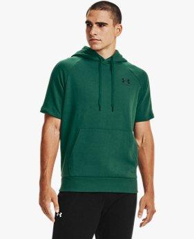 Men's UA Rival Fleece Short Sleeve Hoodie