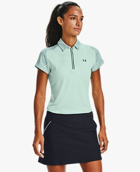 Women's UA Zinger Zip Short Sleeve Polo